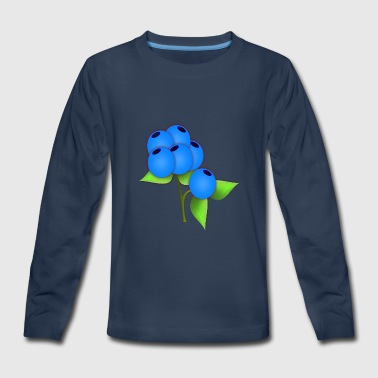 blueberries - Kids' Premium Long Sleeve T-Shirt