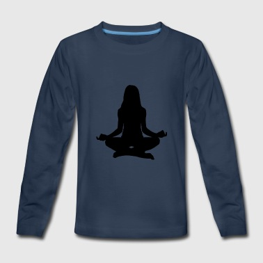 yoga girl - Kids' Premium Long Sleeve T-Shirt