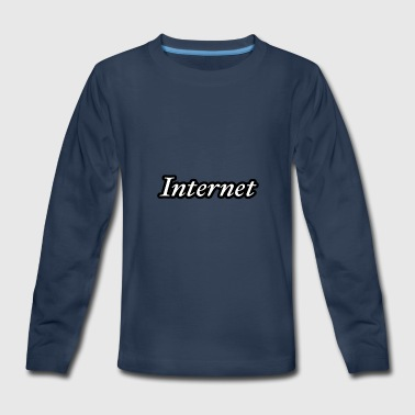Internet - Kids' Premium Long Sleeve T-Shirt