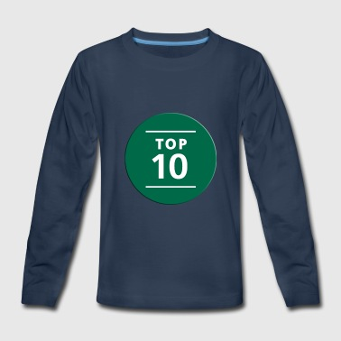 TOP NUMBER TEEN - Kids' Premium Long Sleeve T-Shirt