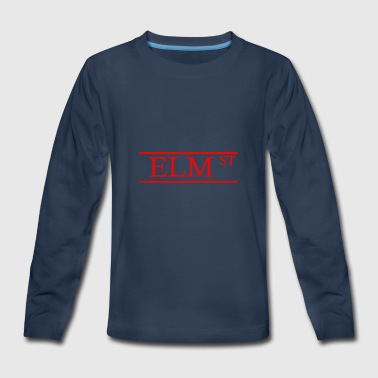 ELM STREET - Kids' Premium Long Sleeve T-Shirt