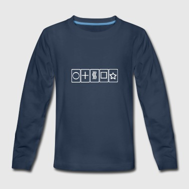 Gift Card Cards - Kids' Premium Long Sleeve T-Shirt