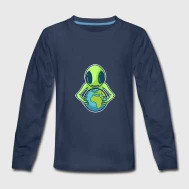 Alien Alien Alien - Kids' Premium Long Sleeve T-Shirt