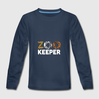 Zoo Keeper - Kids' Premium Long Sleeve T-Shirt