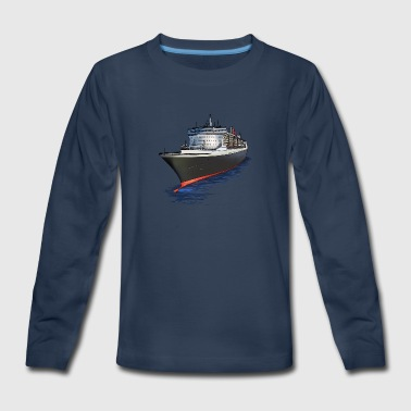 Cruise Ship Cruise ship - Kids' Premium Long Sleeve T-Shirt