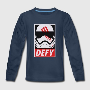 Defy - Kids' Premium Long Sleeve T-Shirt