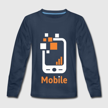 Mobile Mobile - Kids' Premium Long Sleeve T-Shirt