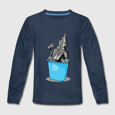 Recycling Recycled - Kids' Premium Long Sleeve T-Shirt