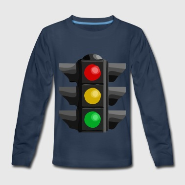 Light Traffic Light - Kids' Premium Long Sleeve T-Shirt