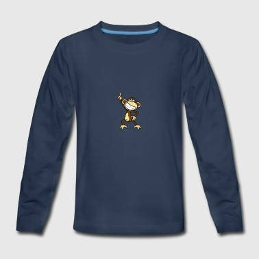Funky monkey - Kids' Premium Long Sleeve T-Shirt