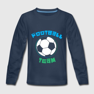 Football Team - Kids' Premium Long Sleeve T-Shirt