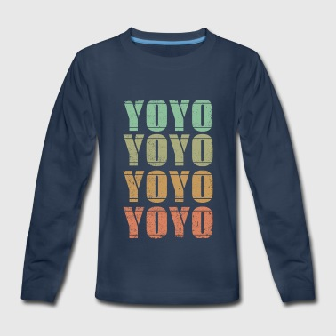 YOYO - Kids' Premium Long Sleeve T-Shirt