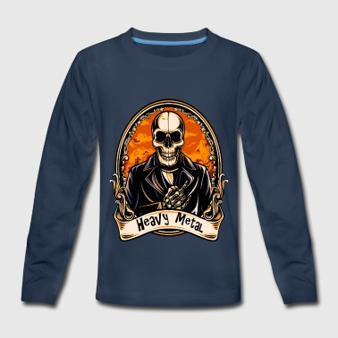 HEAVY METAL - Kids' Premium Long Sleeve T-Shirt