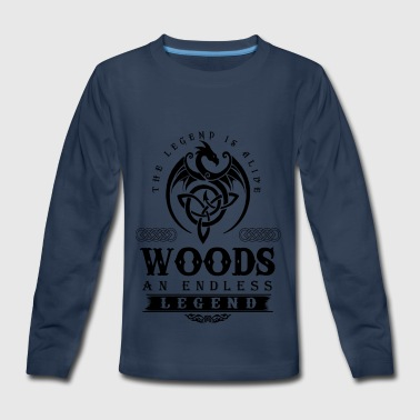 WOODS - Kids' Premium Long Sleeve T-Shirt