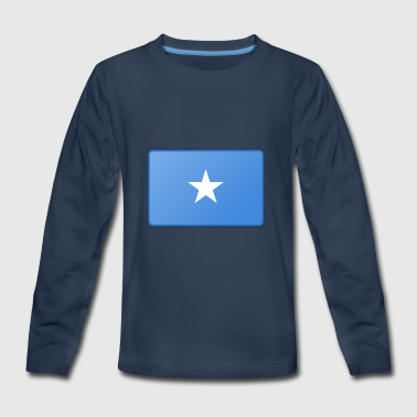 Somalia Flag - Kids' Premium Long Sleeve T-Shirt