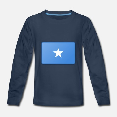 Somalia Flag Somalia Flag - Kids' Premium Long Sleeve T-Shirt
