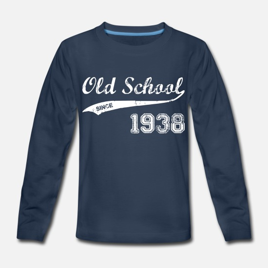Birthday T-Shirts - 1938 - Kids' Premium Longsleeve Shirt navy