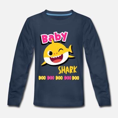 096b41d5 Baby shark doo doo shirt toddlers outfit girl Baby Lap Shoulder T ...