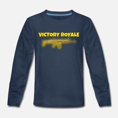 Victory Royale Victory Royale - Kids' Premium Long Sleeve T-Shirt
