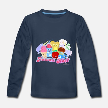 Kawaii Kawaii Not? - Kids' Premium Long Sleeve T-Shirt