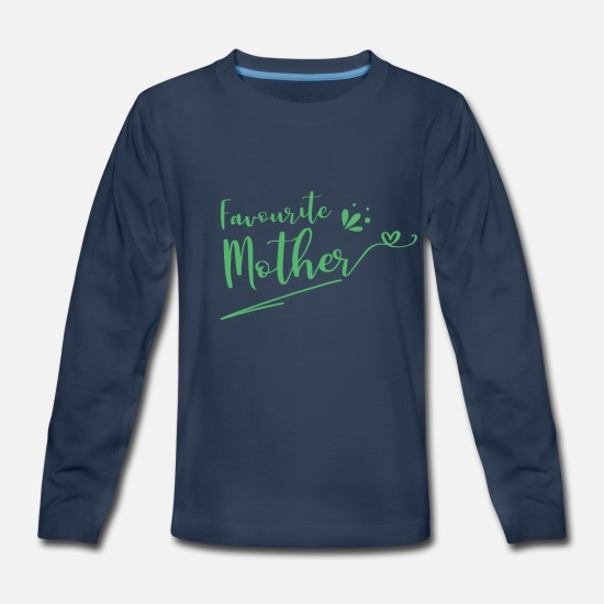 Mother Long-Sleeve Shirts - Mother - Kids' Premium Longsleeve Shirt navy