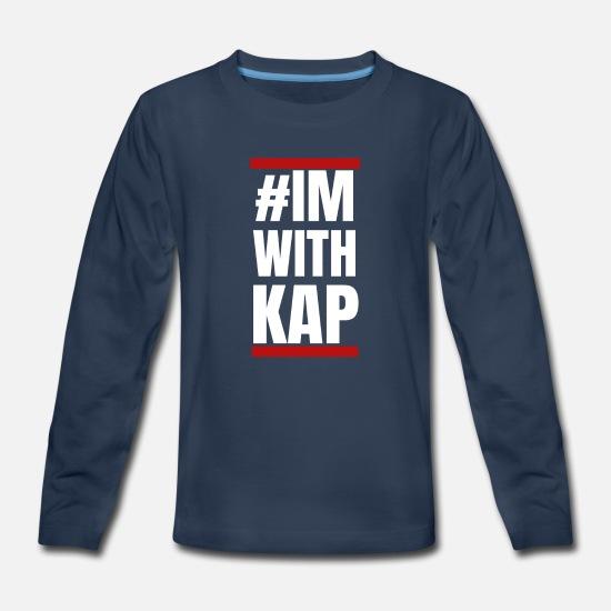 176a2d61d Matter T-Shirts - Colin Kaepernick Im With Kap #IMWITHKAP BLM Pride - Kids