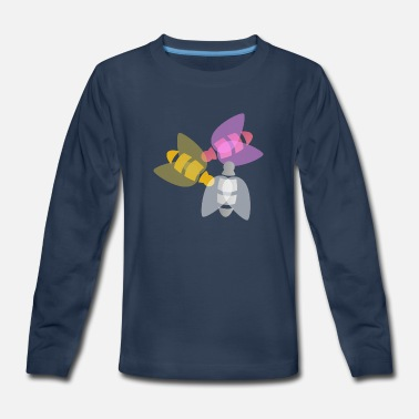 Insect Colorful insect - Kids' Premium Longsleeve Shirt
