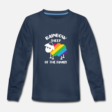 Rainbow Sheep Of The Family LGBT - Kids' Premium Long Sleeve T-Shirt