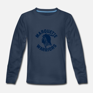 marquette warriors - Kids' Premium Longsleeve Shirt