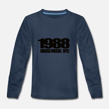 1988 HOUSEMUSIC NYC - Kids' Premium Long Sleeve T-Shirt