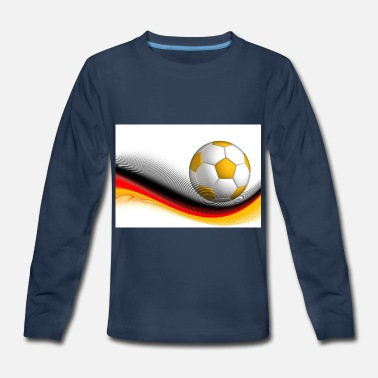 Foodball football - Kids' Premium Longsleeve Shirt