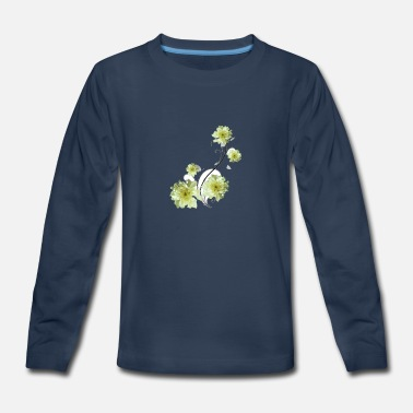 Embroidering Art Embroider - Kids' Premium Longsleeve Shirt