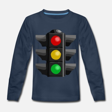 Light Traffic Light - Kids' Premium Longsleeve Shirt