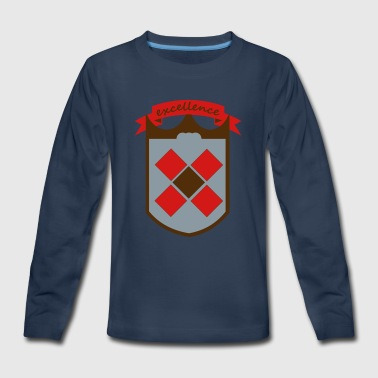 shield excellence - Kids' Premium Long Sleeve T-Shirt
