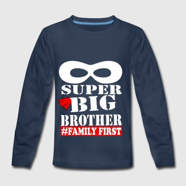 Super Big Brother Shirt - Kids' Premium Long Sleeve T-Shirt