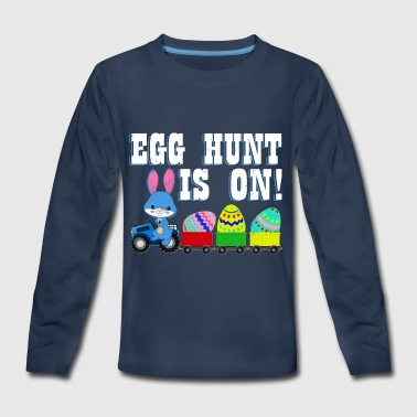 Happy Easter Egg Hunt is On - Kids' Premium Long Sleeve T-Shirt