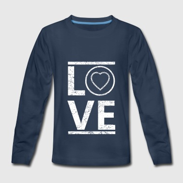 love liebe calling hobby king meister love liebe c - Kids' Premium Long Sleeve T-Shirt