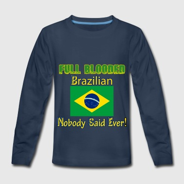 Brazilian designs - Kids' Premium Long Sleeve T-Shirt