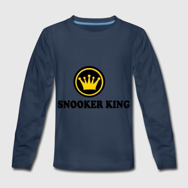 2541614 14212006 snooker - Kids' Premium Long Sleeve T-Shirt