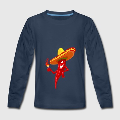 Chilli Chille Hot - Kids' Premium Long Sleeve T-Shirt