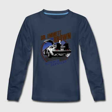 Dr. Emmett Brown Science Services - Kids' Premium Long Sleeve T-Shirt