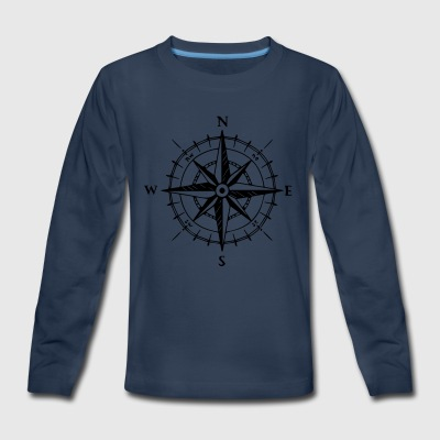 COMPASS - Kids' Premium Long Sleeve T-Shirt