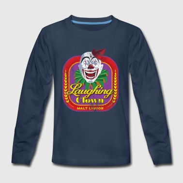 Laughing Clown Malt Liquor - Kids' Premium Long Sleeve T-Shirt