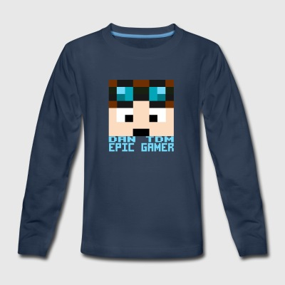 DAN TDM Epic Gamer - Kids' Premium Long Sleeve T-Shirt