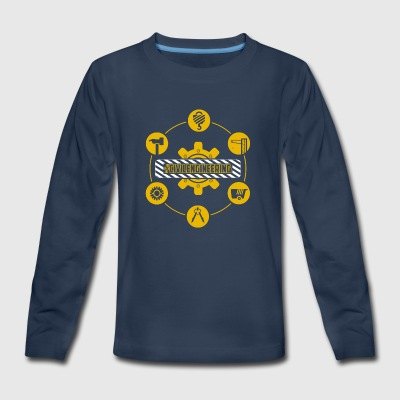 Civil Engineering Shirt - Kids' Premium Long Sleeve T-Shirt