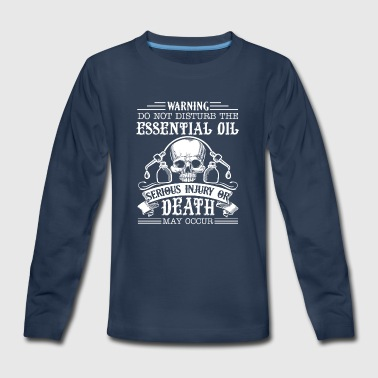 Essential Oil Shirt - Kids' Premium Long Sleeve T-Shirt