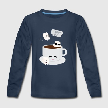 Marshmallow Party - Kids' Premium Long Sleeve T-Shirt
