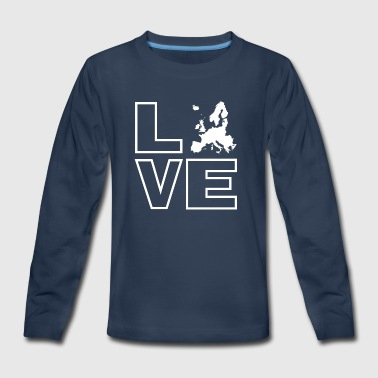 Love Europe - Kids' Premium Long Sleeve T-Shirt