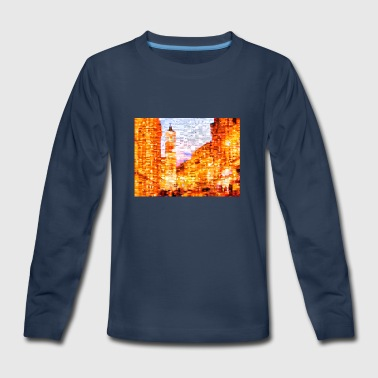 DAWN IN NIECE - Kids' Premium Long Sleeve T-Shirt