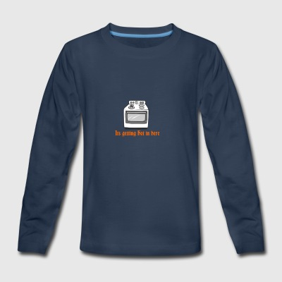 itsgettinghot - Kids' Premium Long Sleeve T-Shirt